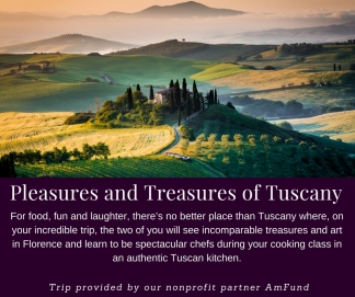 Pleasures and Treasures of Tuscany